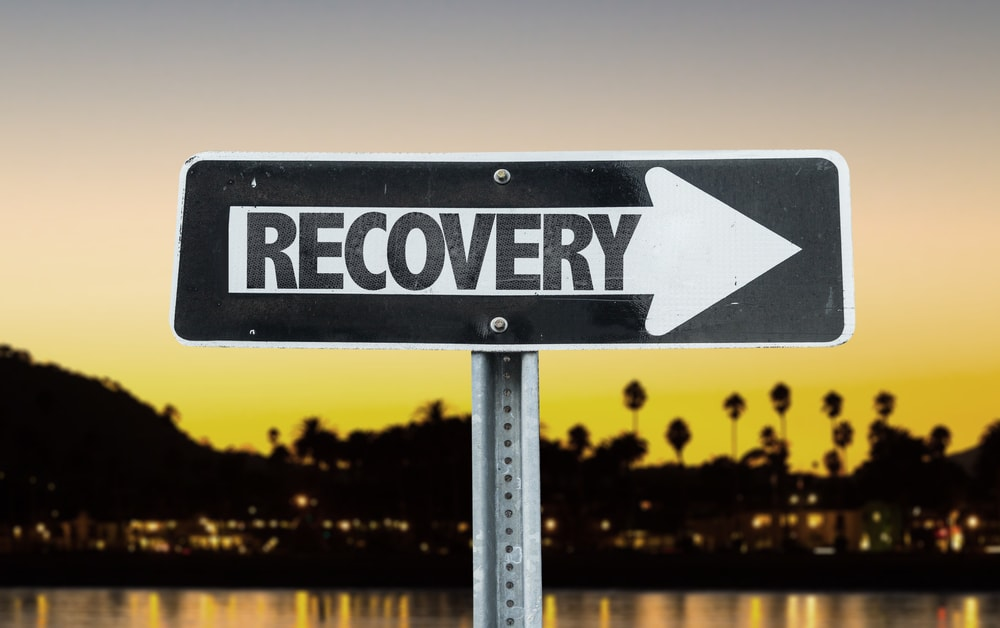 Street Sign that says Recovery to Signify Options for PCP Treatment
