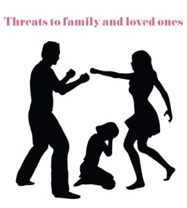 Violence and Sexual Assault - Threats to Family and Loved Ones
