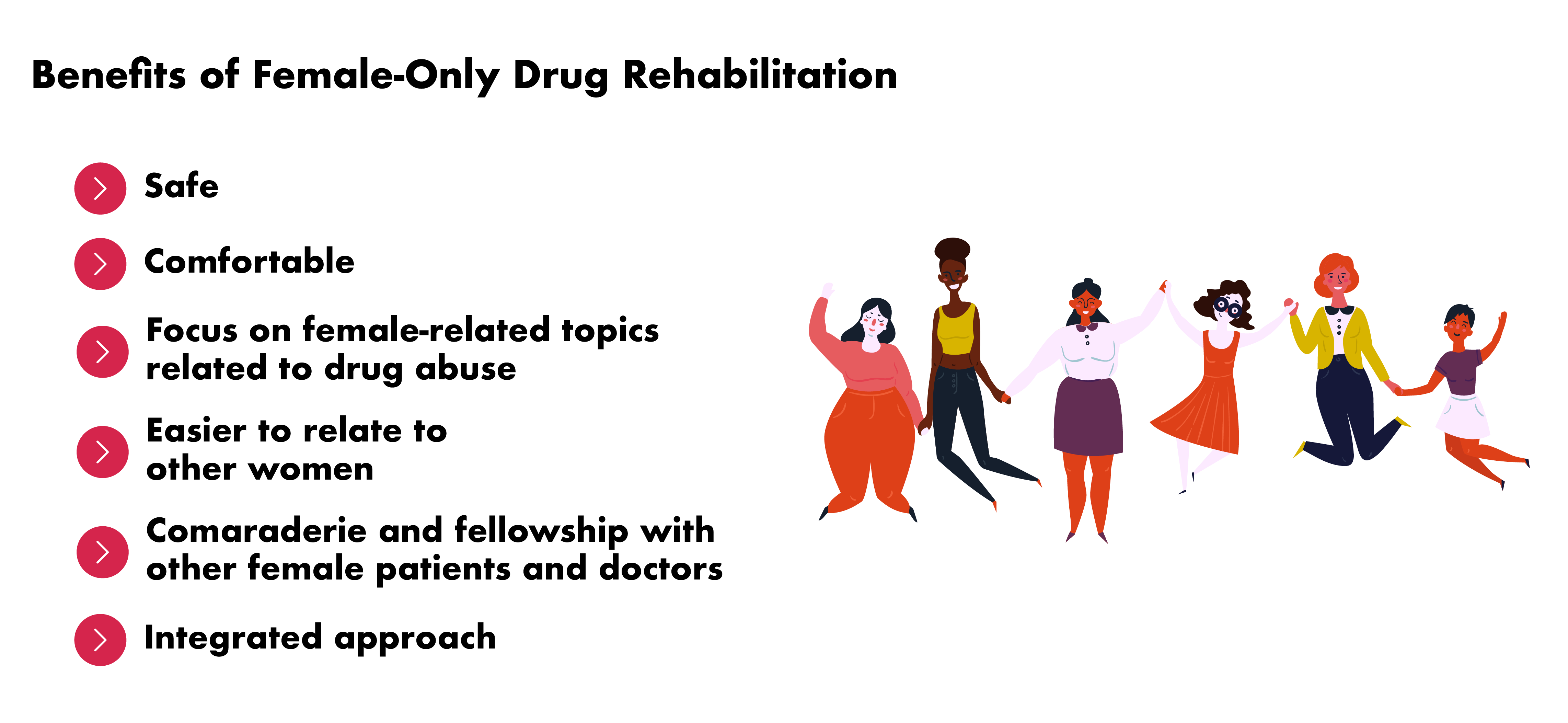 Rehabilitation Guide for Women - Benefits